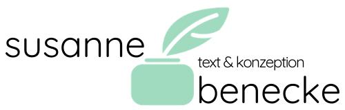 Logo Freie Texterin Susanne Benecke